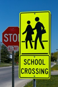 School Crossing.